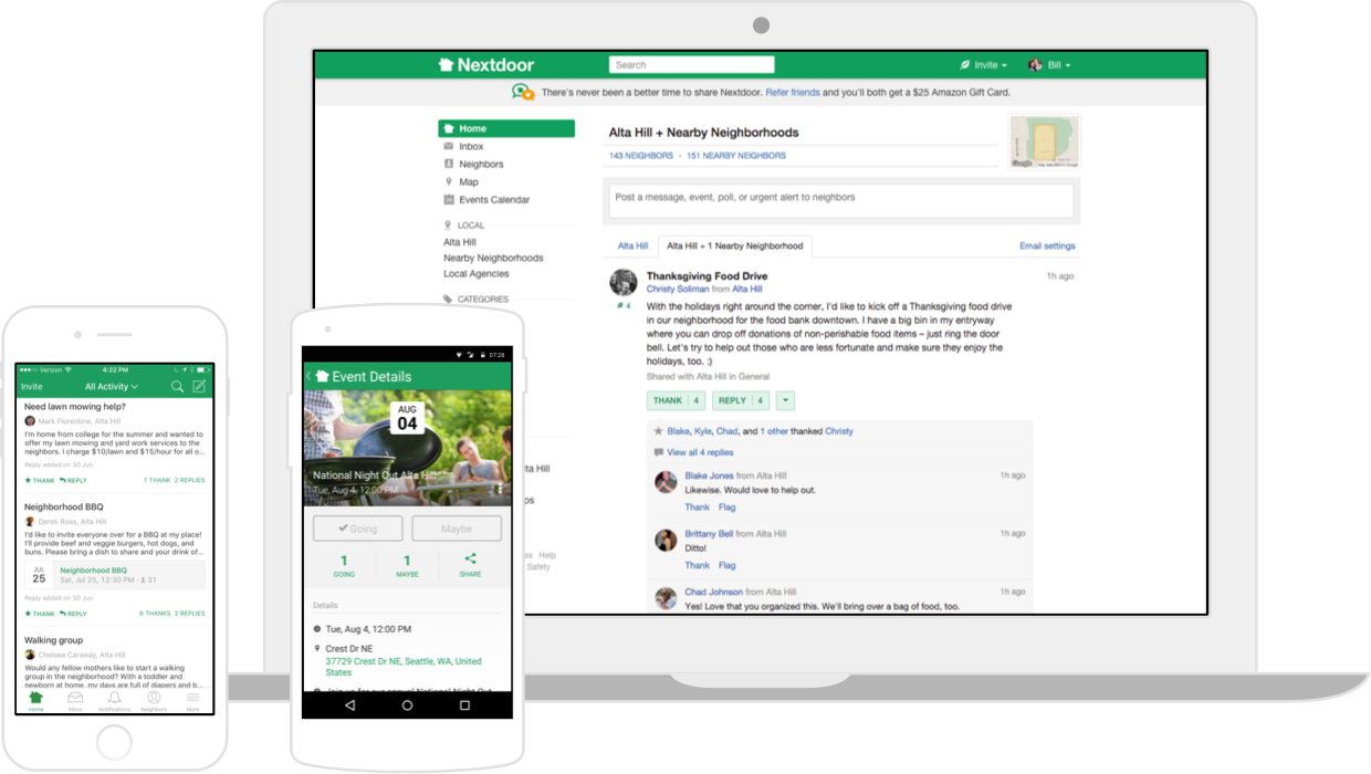 Have You Heard about Nextdoor?